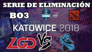 DOTA 2 STREAM - LGD Gaming vs Newbee BO3 (ELIMINACIÓN) ESL ONE Katowice 2018