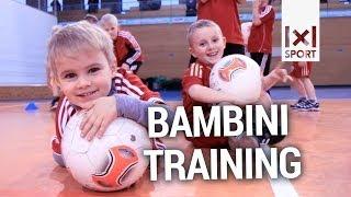 Fußball für Kinder im Vorschulalter: Bambini-Training der SpVgg Unterhaching [TRAILER]
