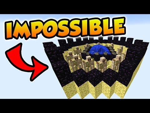 100% IMPOSSIBLE TO BREAK THIS BED | Minecraft Bed Wars