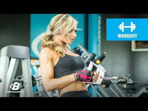 Fitness Model Back Workout | Nikki Walter