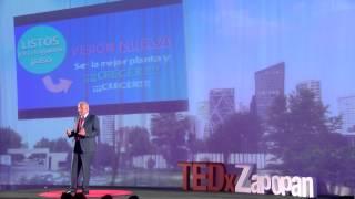 ¿Puede una empresa transformar un estado? | Alfonso Alva | TEDxZapopan