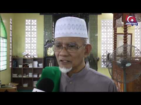 Pihak Masjid Wadi Hassan Bersyukur Terima Sumbangan KPRJ