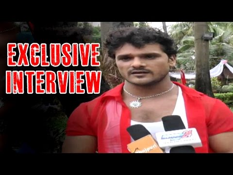Laadla Bhojpuri Movie | Exclusive Interview With Khesari Lal
