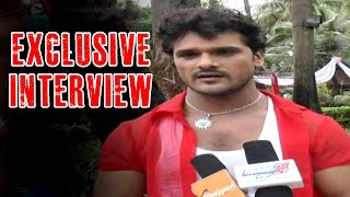 Laadla Bhojpuri Movie | Exclusive Interview With Khesari Lal