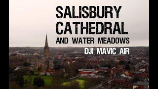 Salisbury Cathedral & Water Meadows - DJI Mavic Air