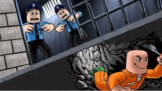 Roblox - JAILBREAK ESCAPE CHALLENGE - Prisoners vs Cops! (Roblox Prison Game)