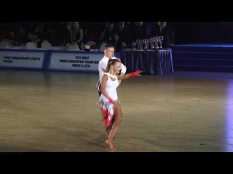 World Championship Junior 2 Latin, Final Presentation, Samba Nikita Olinichenko   Elizaveta Pustorna