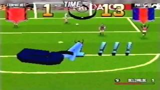 Adidas Power Soccer - PSOne - Gameplay Recorded in 1997