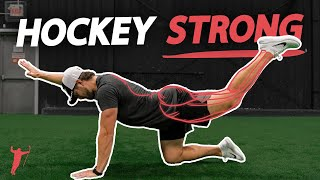 STAY STRONG ON THE PUCK 🏒💪 (upper body hockey workout)