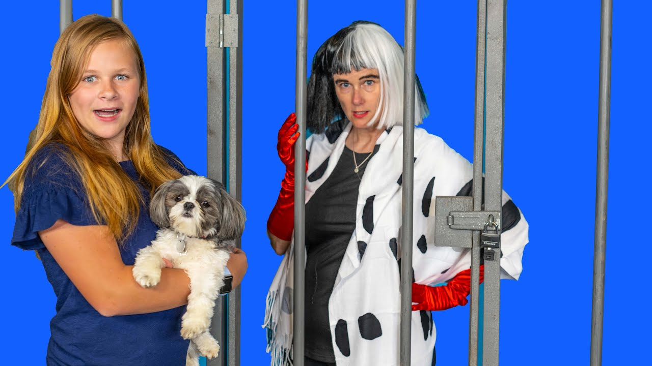 Download Assistant Stops Cruella from taking Wiggles and Waggles and Paw Patrol