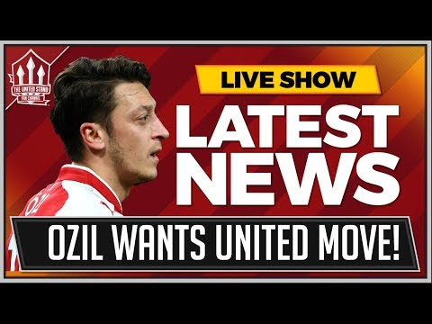 OZIL Chooses MANCHESTER UNITED Transfer Thanks to RONALDO! Man Utd News