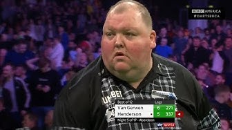 Best Match of Night 5: Michael van Gerwen 6-6 John Henderson | FULL MATCH | Thursday Night Darts