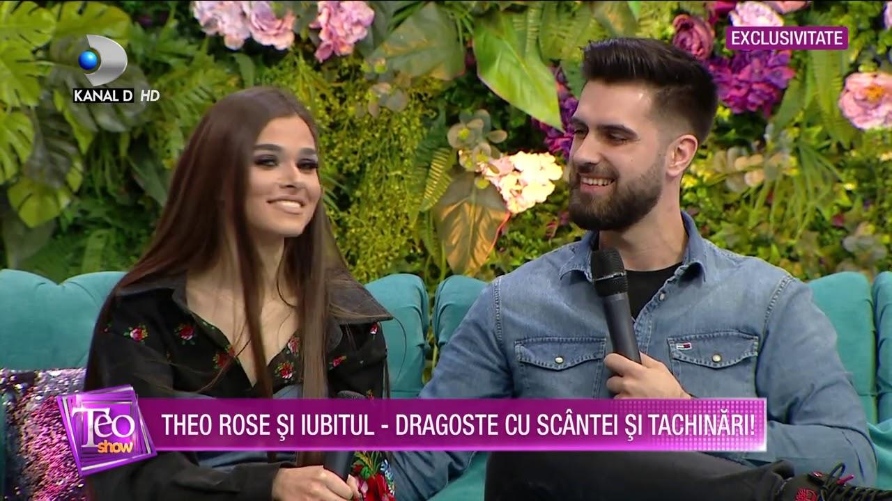 Teo Show(13.01.2021) - EXCLUSIV | Theo Rose si iubitul, dragoste cu scantei si tachinari!