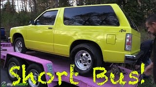Don't Mess with this Street Racing Short Bus!