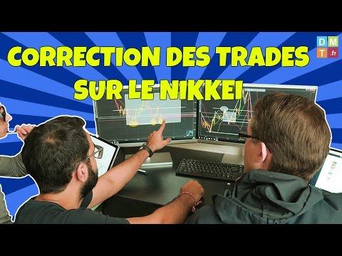 CORRECTION DES TRADES SUR LE NIKKEI