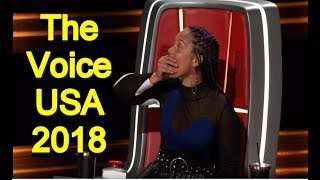 The Voice USA 2018 - Best Blind Auditions Of The Voice usa Season 14 - PART 1