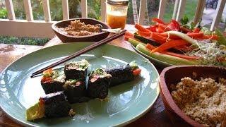How To Make Raw Vegan Nori Wraps