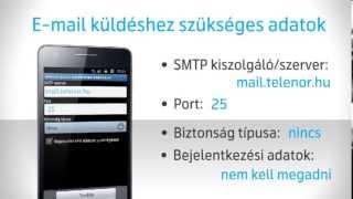 Android készülékek Telenor e-mail beállítása thumbnail