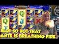 BIG WIN!!!! Flame dance - Casino Games - bonus round (Casino Slots)