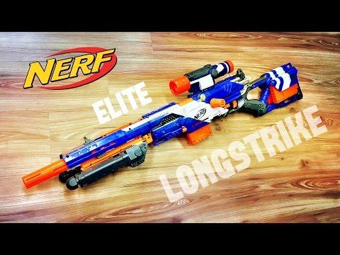 [COMMUNITY] Nerf Elite Longstrike | Nerf Sniper Rifle / DMR Configuration by Darryl C.