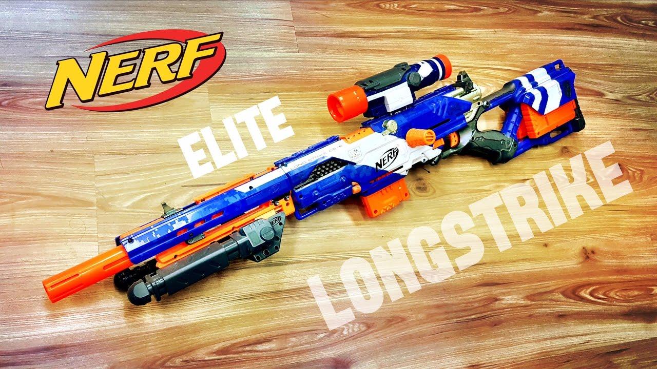 Community Nerf Elite Longstrike Nerf Sniper Rifle