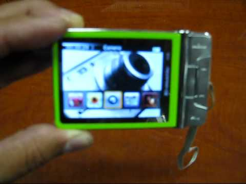 EMATIC EM504CAM 4GB Video MP3 Player with 2.4