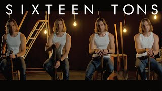 SIXTEEN TONS | Low Bass Singer Cover