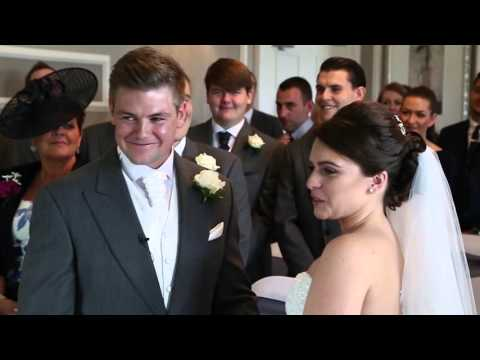 Hothorpe Hall Wedding Film on a Beautiful September day, smiles all round - Forget Me Knot