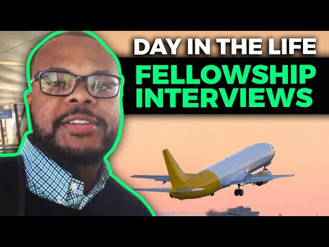 Spine Fellowship Interview Trail | Day in The Life of Interviewing for Fellowship