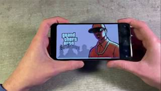Игры Samsung Galaxy A50 (GTA:SanAndreas, PUBG:Mobile, Unkilled)