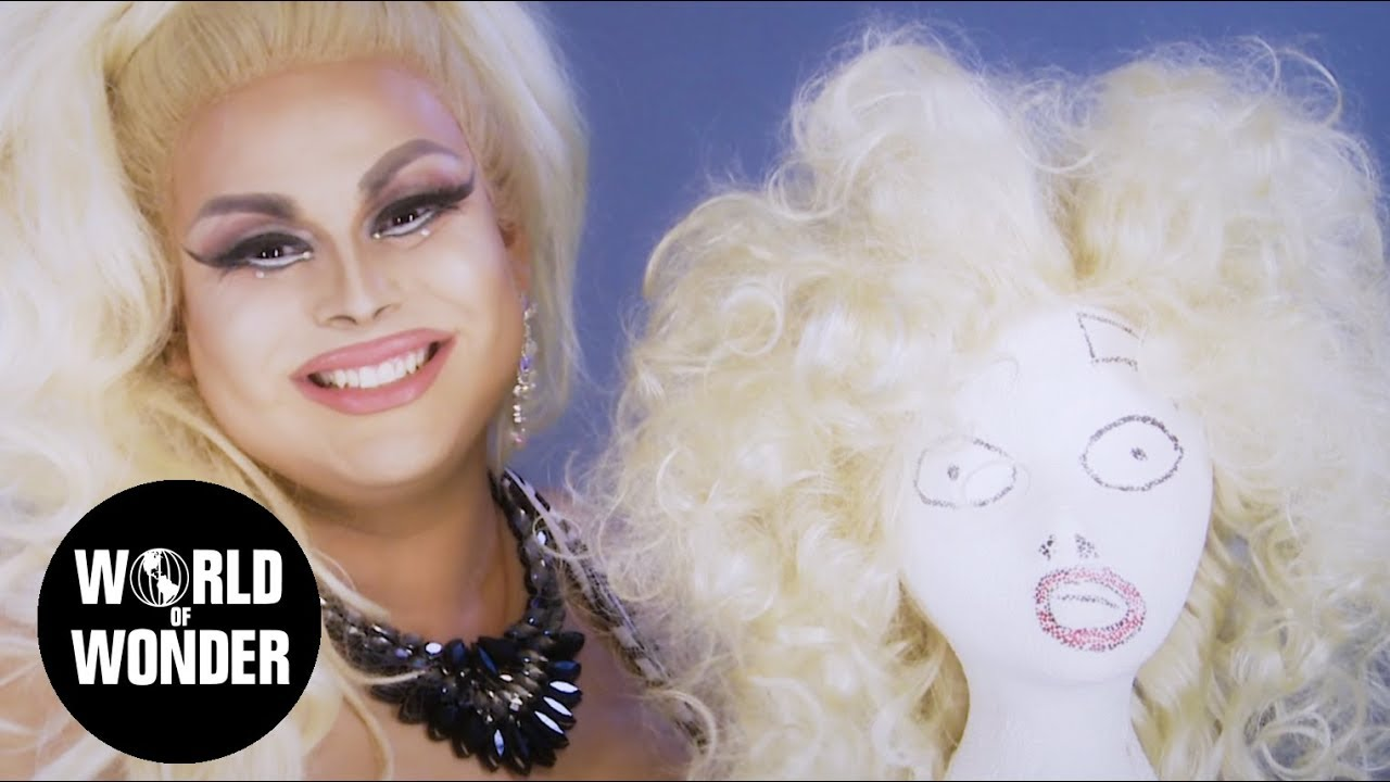 How To Makeup with Jaymes Mansfield: Wig Teasing!