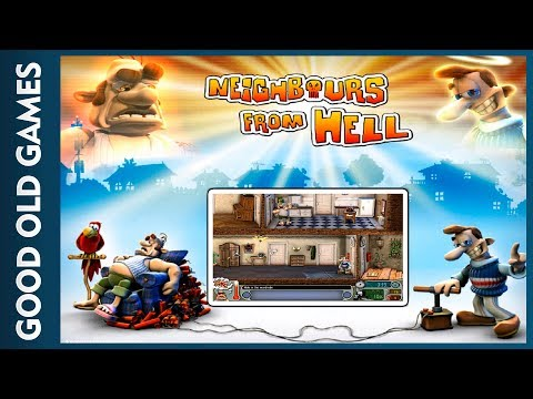 Neighbours From Hell (Good Old Games)(Gameplay)