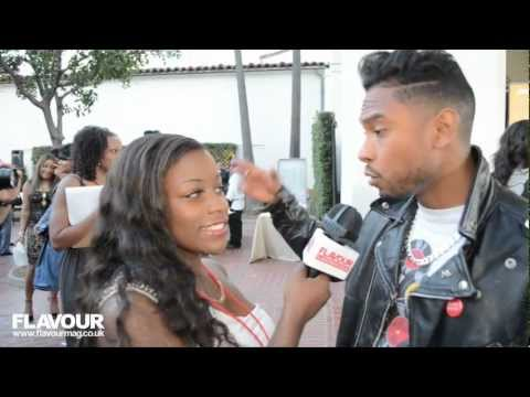 Miguel Is a Huge flirt Full interview at the BET Awards Red Carpet