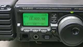 ANDRÉ TAUROS - YAESU FT 897D TROCA DO LCD
