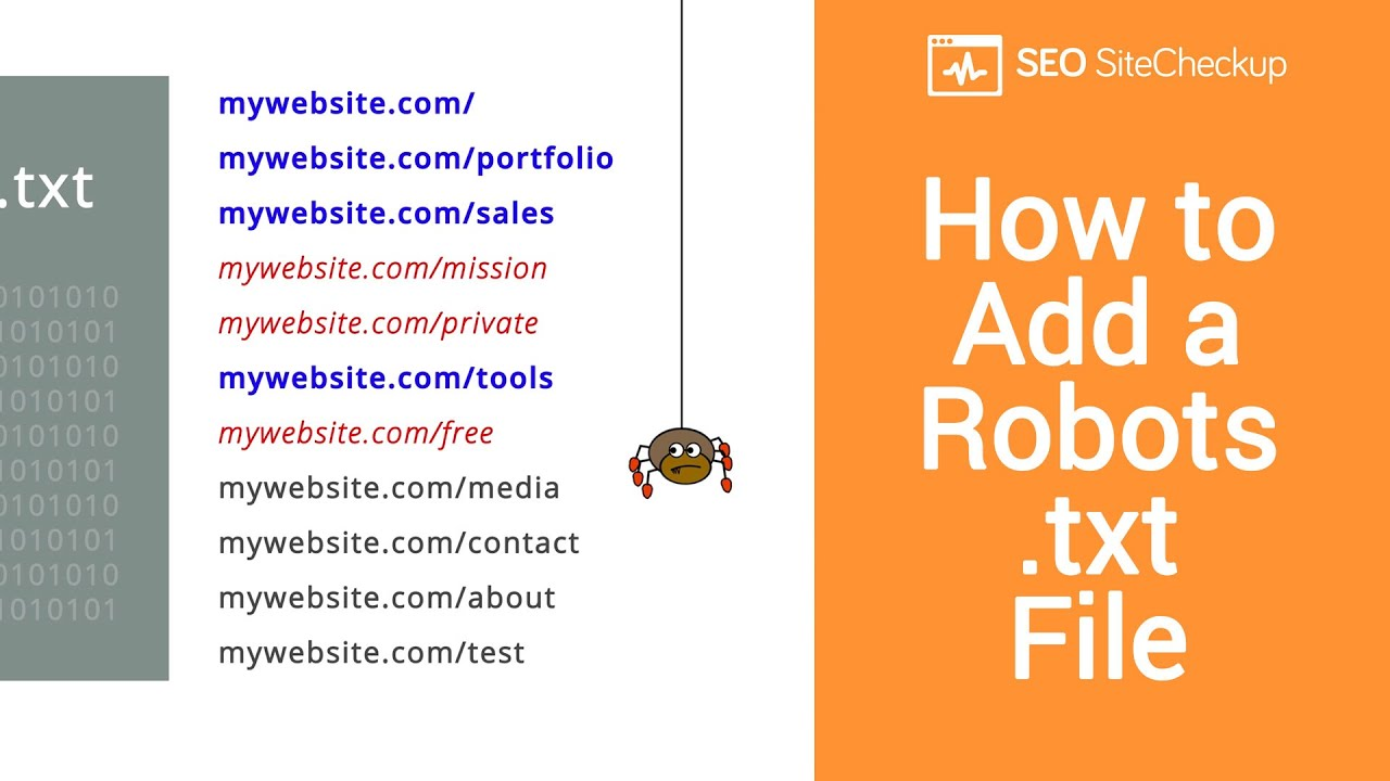 Download How to Add a Robots.txt File