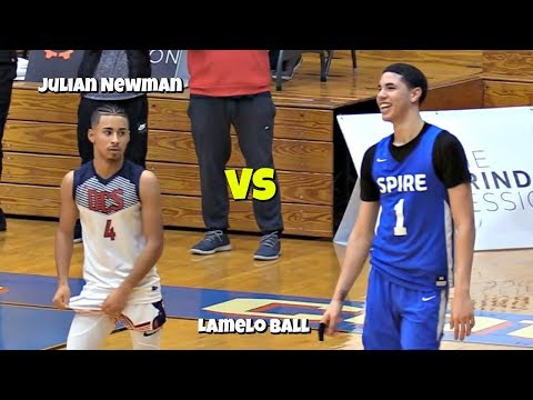 Julian Newman vs LaMelo Ball EXCLUSIVE Behind The Scenes (Mini Episode)