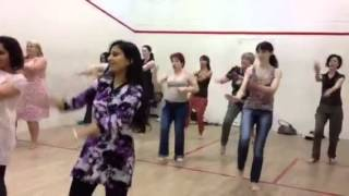 Bollywood dance class - Say shava shava!