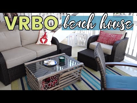 VACATION HOUSE TOUR! // First VRBO Rental Experience