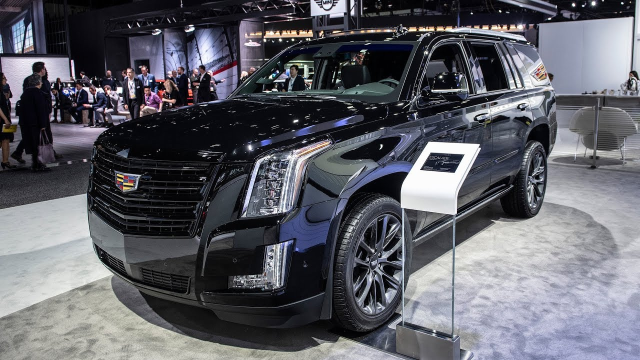 2019 Cadillac Escalade Sport Edition Goes Dark And Adds New Wheels