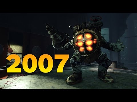 Bioshock, Mass Effect, and Assassin's Creed Made 2007 Awesom