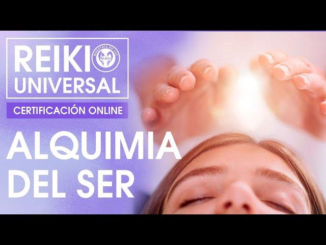 Certificación Reiki Universal Online: Alquimia del Ser