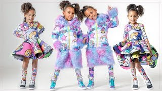 TWINS STYLE THEMSELVES!