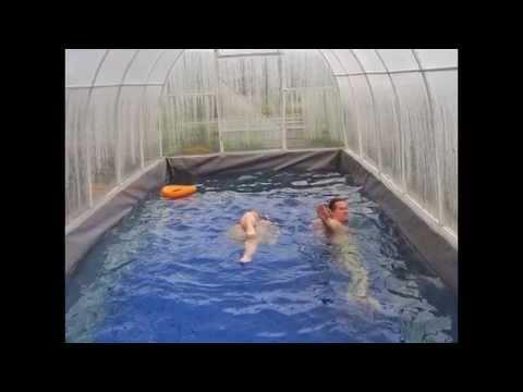 Крытый бассейн для дачи - бесценная идея