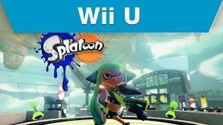 Wii U - Splatoon Single Player Spot