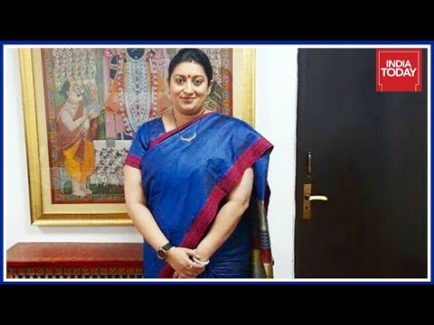 Breaking News | Smriti Irani To Be The Next Gujarat Chief Minister, Say Sources