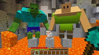 CURSED MINECRAFT BUT IT'S UNLUCKY LUCKY FUNNY MOMENTS WHO to SAVE SHEEP or ZOMBIE?