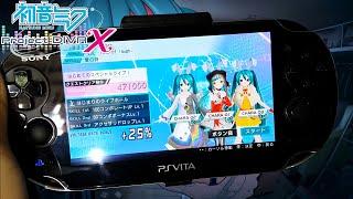 初音ミク project diva x ps vita full gameplay demo english comment