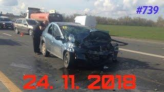 ☭★Подборка Аварий и ДТП/Russia Car Crash Compilation/#739/November 2018/#дтп#авария