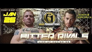 "Bitter Rivals- Cory ""the Warrior"" Vern vs Justin Ley"