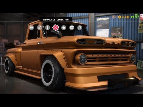 Need For Speed: Payback - Chevrolet C10 Stepside Pickup (Derelicts) - Customize | Tuning Car HD